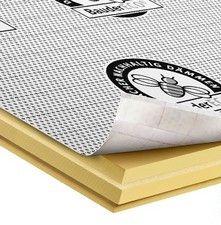 płyta poliuretanowa do termoizolacji na krokwiach dachów skośnych BauderECO