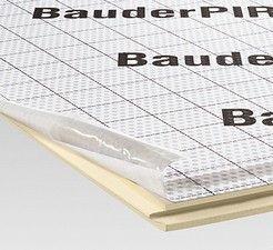 płyta poliuretanowa do termoizolacji łącznej dachów skośnych BauderPIR AZS