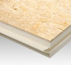 płyta poliuretanowa do termoizolacji od wewnątrz dachów skośnych BauderPIR DHW