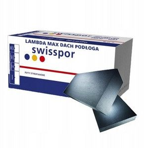 styropian szary do izolacji dachów płaskich swisspor LAMBDA MAX dach podłoga