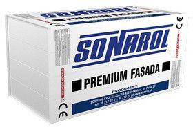 styropian do izolacji termicznej fasad Sonarol EPS S 040 Premium/Fasada