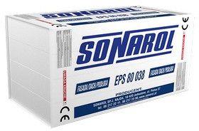 płyty styropianowe do izolowania podłóg i stropów Sonarol EPS 80 038