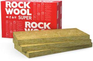 płyty z wełny skalnej do izolacji podłóg lekkich na legarach Rockwool SUPERROCK