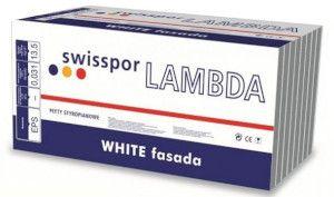styropian do fasad etics swisspor LAMBDA WHITE fasada